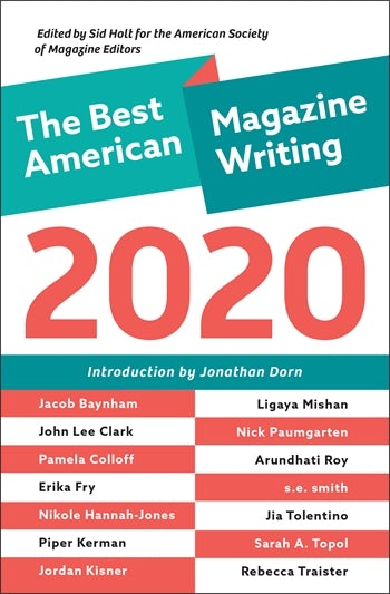 The Best American Magazine Writing 2020